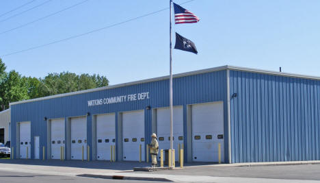 Fire Department, Watkins Minnesota, 2009