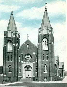 St. Nicholas Church, Watkins Minnesota, 1930