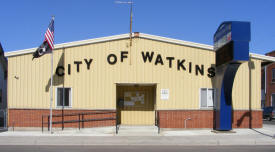 Watkins City Hall, Watkins Minnesota