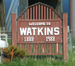 Welcome to Watkins Minnesota!