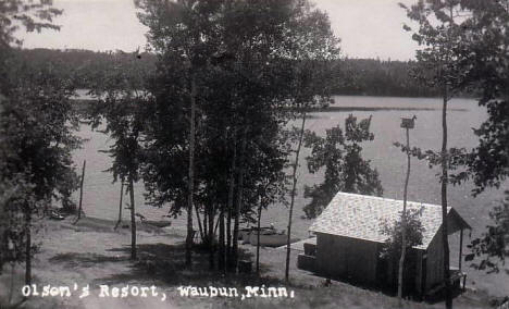 Olson's Resort, Waubun Minnesota, 1950's?