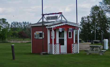 Tourist Information Hut, Waubun Minnesota, 2008