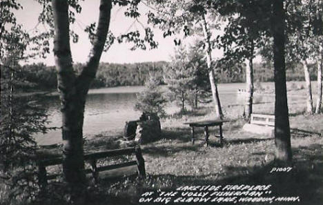 The Jolly Fisherman on Big Elbow Lake, Waubun Minnesota