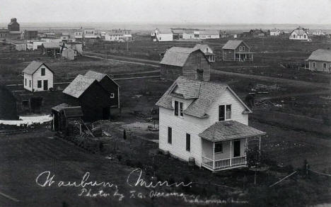 General view, Waubun Minnesota, 1910's?