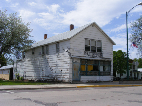 Former Gerhardt's Grocery Store, Welcome Minnesota, 2014