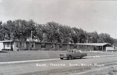 Behr Parkview Home, Wells Minnesota, 1960's