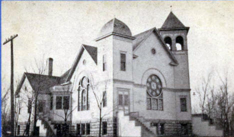 Methodist Church, West Concord Minnesota, 1910's
