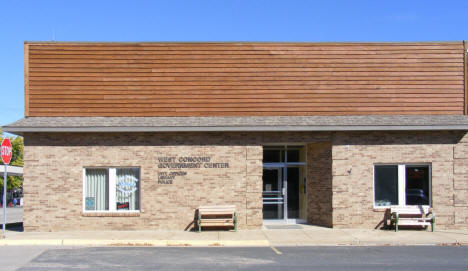 City Hall, Police Department and Public Library, West Concord Minnesota, 2010