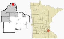 Location of West Saint Paul, Minnesota