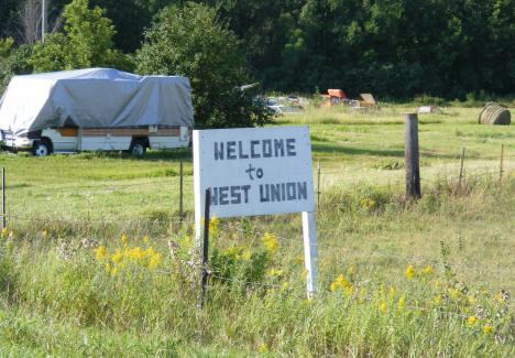 Welcome to West Union Minnesota, 2008