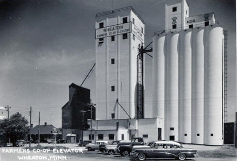 Farmers Co-op Elevator, Wheaton Minnesota, 1950's