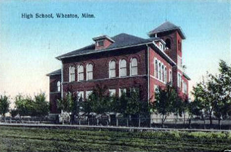 High School, Wheaton Minnesota, 1910