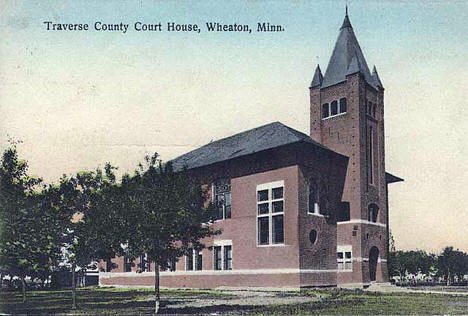 Traverse County Courthouse, Wheaton Minnesota, 1910
