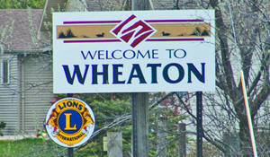 Wheaton Minnesota Welcome Sign