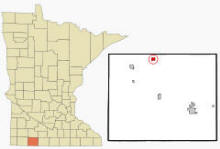 Location of Wilder, Minnesota
