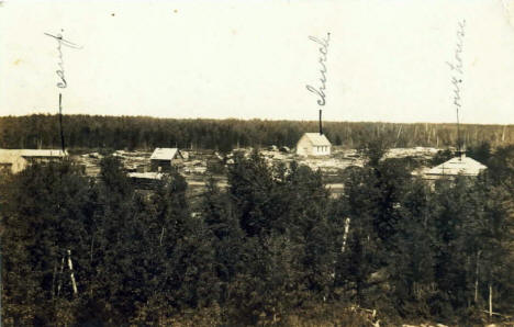 General View, Williams Minnesota, 1909
