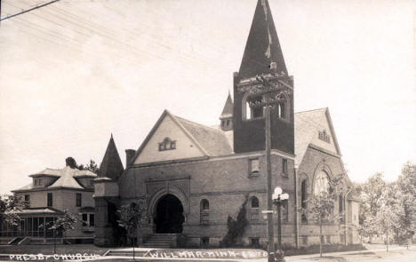 Presbyterian Church, Willmar Minnesota, 1919
