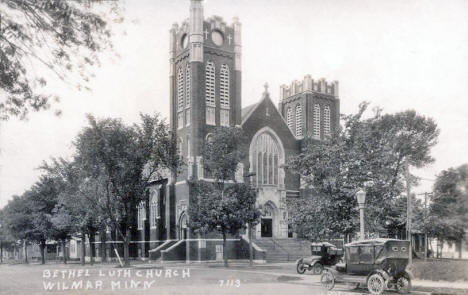 Bethel Lutheran Church, Willmar Minnesota, 1920's