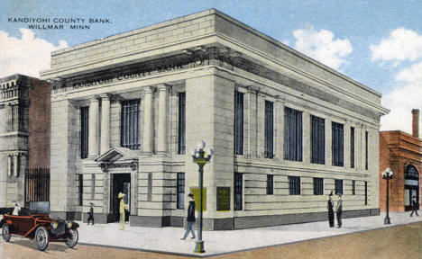 Kandiyohi County Bank, Willmar Minnesota, 1918
