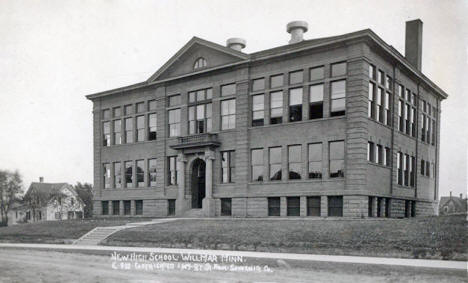 New High School, Willmar Minnesota, 1909