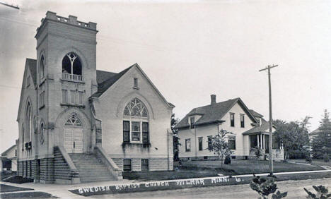 Swedish Baptist Church, Willmar Minnesota, 1919