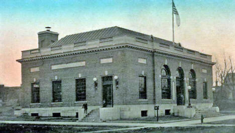 Post Office, Willmar Minnesota, 1910's