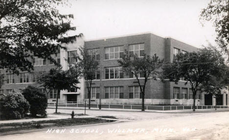 High School, Willmar Minnesota, 1930's