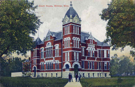 Court House, Willmar Minnesota, 1910's