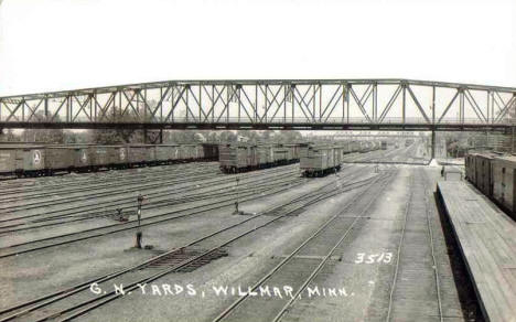 Great Northern Railroad Yards, Willmar Minnesota, 1943