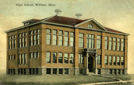 High School, Willmar Minnesota, 1908