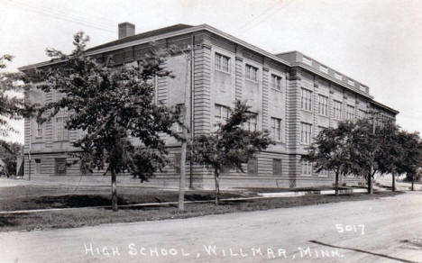 High School, Willmar Minnesota, 1940's?