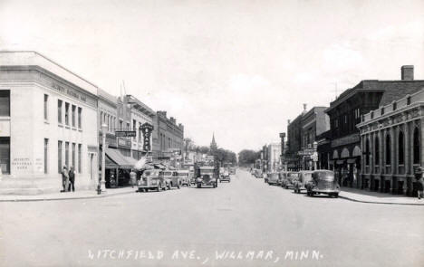Litchfield Avenue, Willmar Minnesota, 1939