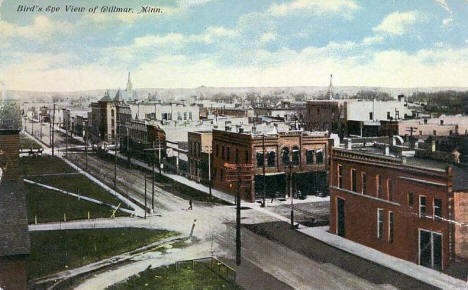 Birdseye View of Willmar Minnesota, 1910's?