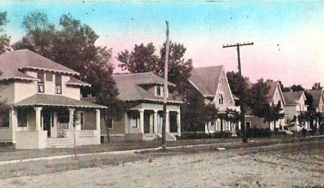 Seventh Street North, Willmar Minnesota, 1910's?