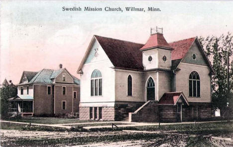 Swedish Mission Church, Willmar Minnesota, 1908