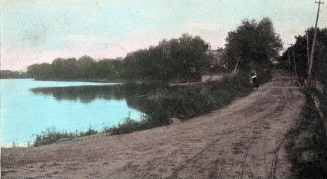 Foot Lake Drive, Willmar Minnesota, 1909