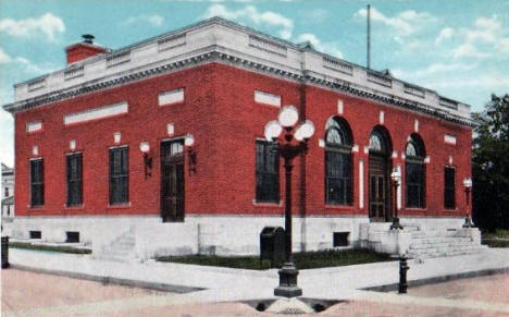 Post Office, Willmar Minnesota, 1920's