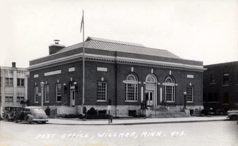 Post Office, Willmar Minnesota, 1930's