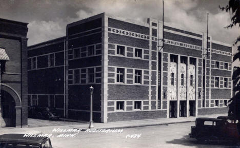 Willmar Auditorium, Willmar Minnesota, 1930's