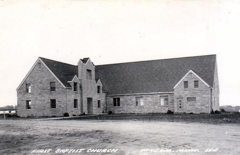 First Baptist Church, Windom Minnesota, 1940's?