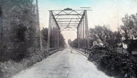 Des Moines River Bridge, Windom Minnesota, 1910's