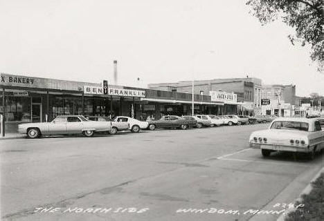 The North Side, Windom Minnesota, 1960's