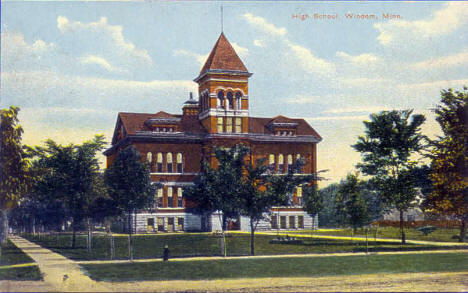 High School, Windom Minnesota, 1909