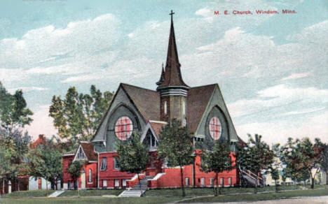 Methodist Episcopal Church, Windom Minnesota, 1910's