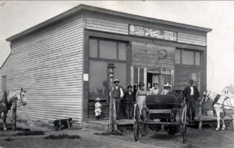 Post Office, Winger Minnesota, 1900?