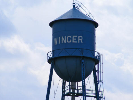 Water Tower, Winger Minnesota, 2008