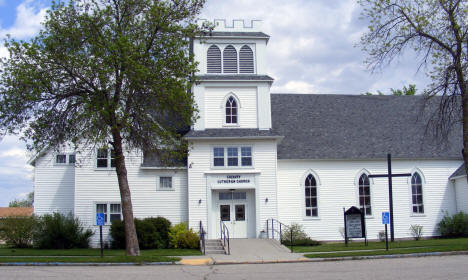 Calvary Lutheran Church, Winger Minnesota, 2008