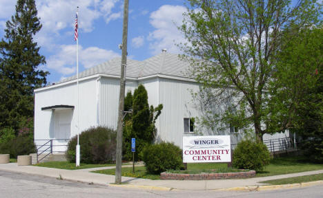 Winger Community Center, Winger Minnesota, 2008