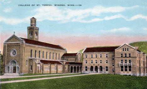 College of St. Teresa, Winona Minnesota, 1920's