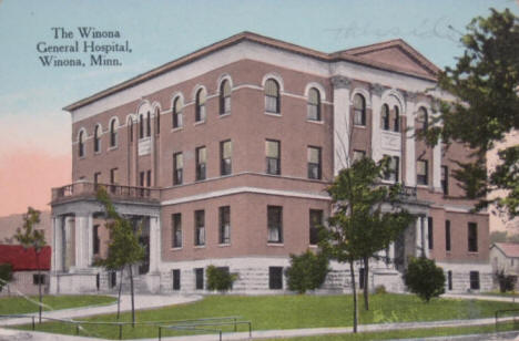 General Hospital, Winona Minnesota, 1910